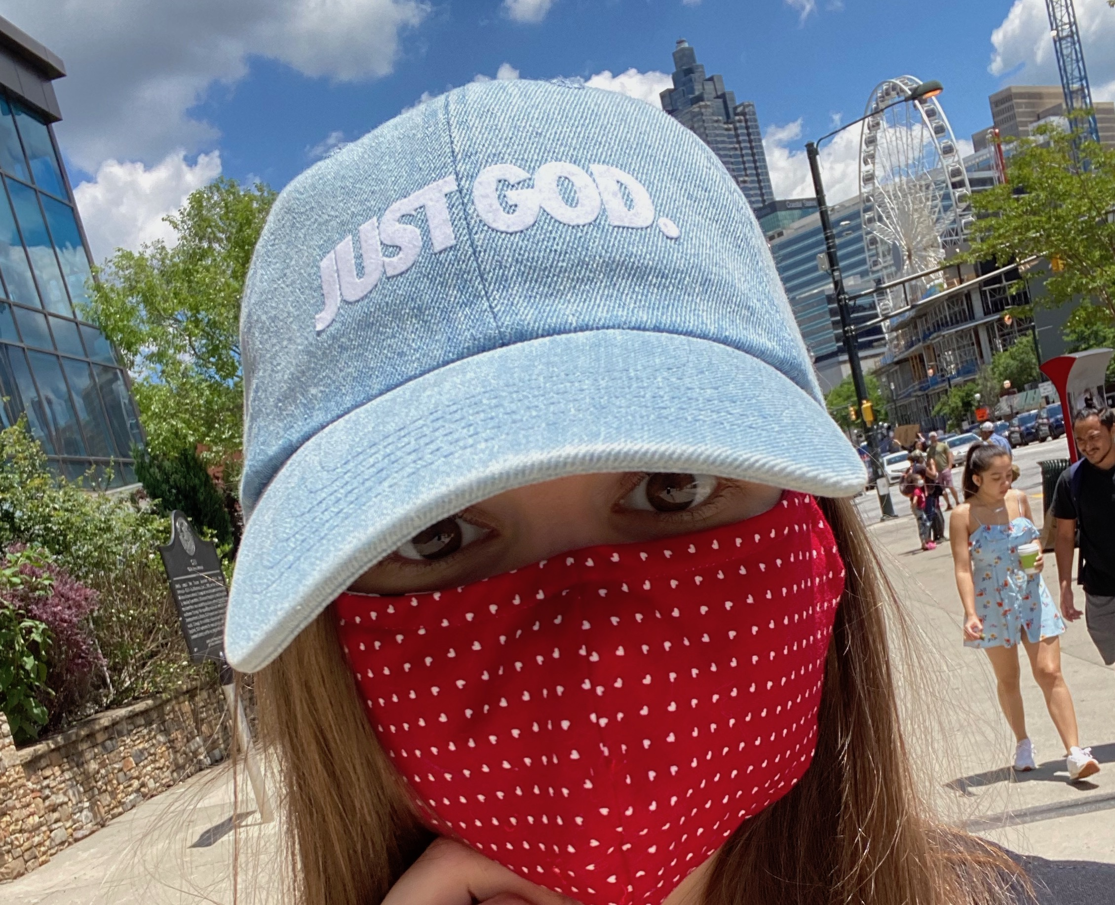 Just God Selfie